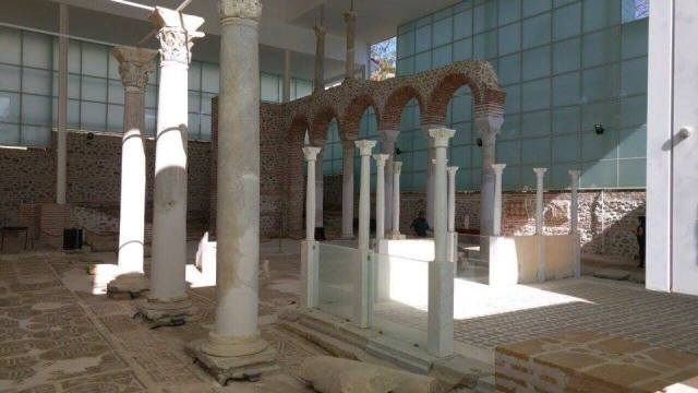 The long anticipation of the opening of the Early Christian Archaeological Park in Bulgaria's Sandanski has paid off now that it is emerging as a major site for cultural tourism. Photo: Bulgarian Prime Minister's Facebook Page