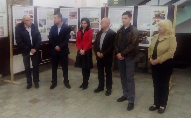 The opening of the Bulgarian Archaeology exhibition in Tsaribrod (Dimitrovgrad), Serbia. Photo: Far
