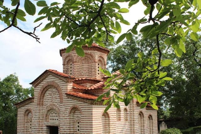 The medieval St. George Church in Bulgaria's Kyustendil is one of the city's most famous cultural landmarks together with the Pautalia / Velbazhd (Hisarlaka) Fortress. Photo: Kyustendil Regional Museum of History