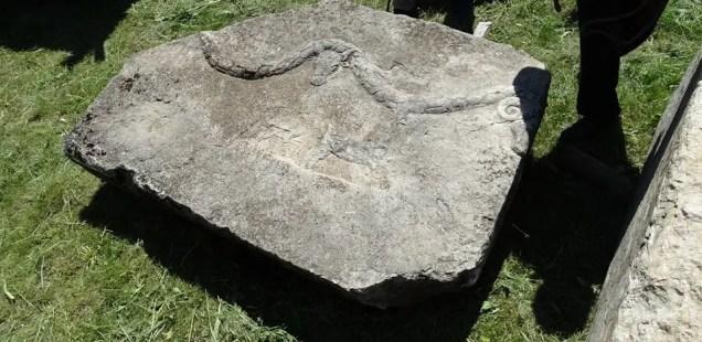 History Museum in Bulgaria's Pavlikeni Gets Ancient Roman Stone Slabs as Donation for Newly Established Lapidarium
