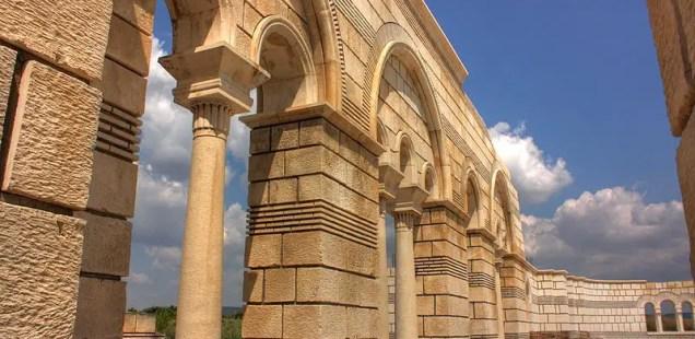 Bulgaria's National Museum of History Reintensifies Restoration of 9th Century Great Basilica in Early Medieval Capital Pliska