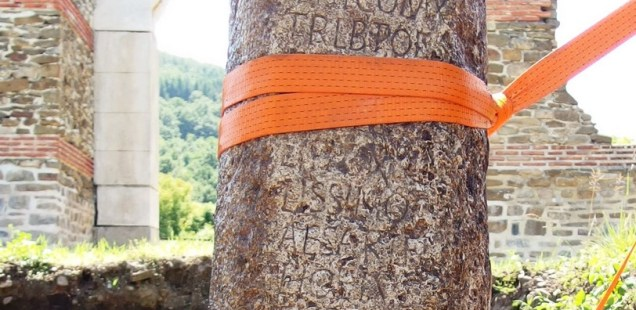 Archaeologists Discover Pillar with Inscription Honoring Roman Emperor Philip the Arab at Sostra Fortress near Bulgaria's Troyan