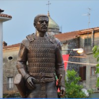 Monument of Ancient Bulgar Leader Altsek Opened in Italy's Celle di Bulgheria to Celebrate Ancient Bulgar Heritage