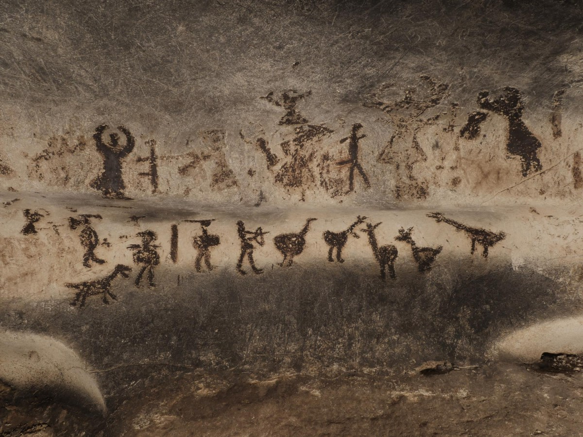 Bulgaria Presents in Paris Prehistoric Drawings from Magura Cave with Photo Exhibit