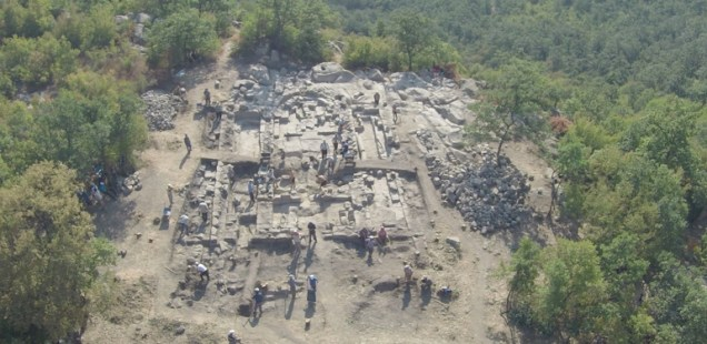 Largest Early Christian Basilica in Rhodope Mountains Discovered in Rock City Perperikon in Southern Bulgaria