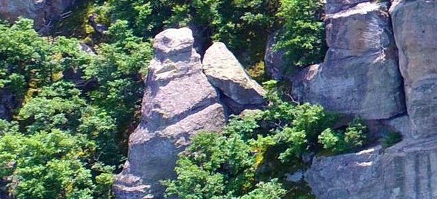 Prehistoric Rock Shrine with Giant Snake Heads Hewn In Discovered near Bulgaria's Sarnitsa, Archaeologist Confirms