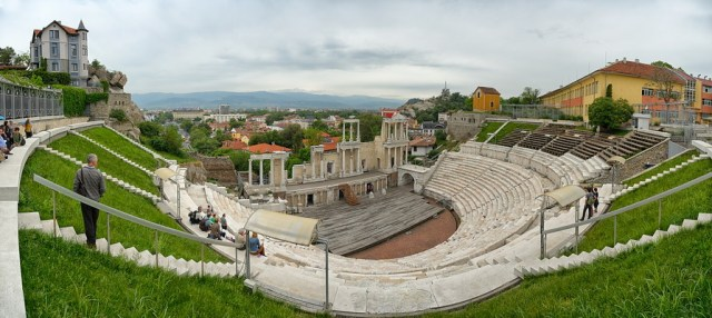 The Antiquity Amphitheater is the most important cultural landmark of Bulgaria's Plovdiv, Europe's oldest city, according to a new poll. Photo: VisitPlovdiv, Plovdiv Municipality