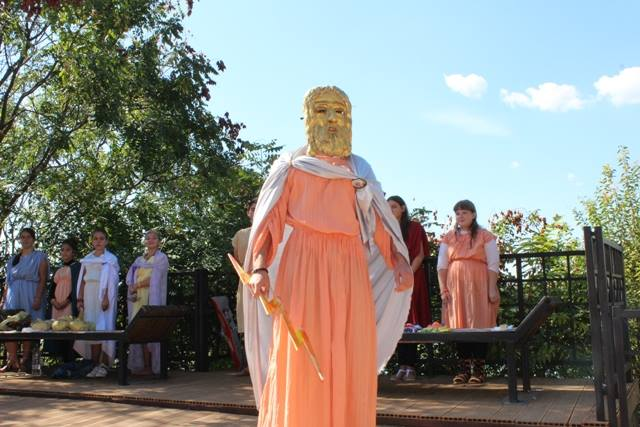 The Roman Market at Sexaginta Prista has featured various kinds of demonstrations and reenactments. Photo: Ruse Regional Museum of History Facebook Page