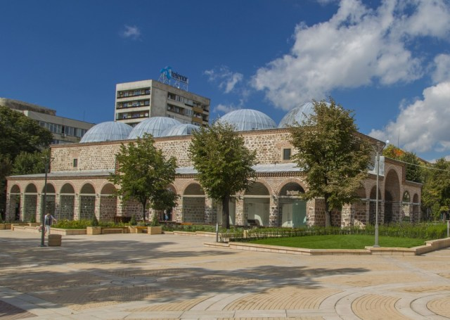 The Yambol Bedestan, an Ottoman covered market built in 1509, has been turned into a cultural center with a museum after an EU-funded rehabilitation, and has regained its status as the city's main landmark. Photo: Yambol Municipality