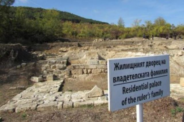 The ruins of the Bulgarian imperial residence in Veliki Preslav. Photo: Trud daily