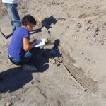 Archaeologists Discover Medieval Necropolis on Top of Late Antiquity Floor Mosaics of Great Basilica in Bulgaria's Plovdiv