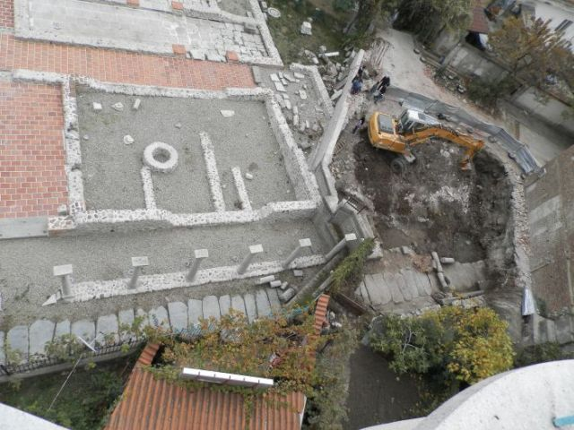 The newly found archaeological structures are located on private property right next to the Early Christian Archaeological Park of Sandanski, which has attracted a lot of tourists since its opening in the spring of 2016. Photos: Sandanski Museum of Archaeology