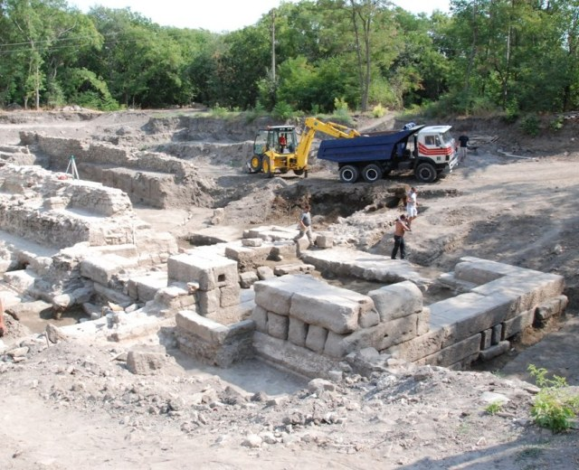 The ruins of the ancient and medieval city of Aquea Calidae - Thermopolis in Bulgaria's Burgas. Photos: Burgas Regional Museum of History