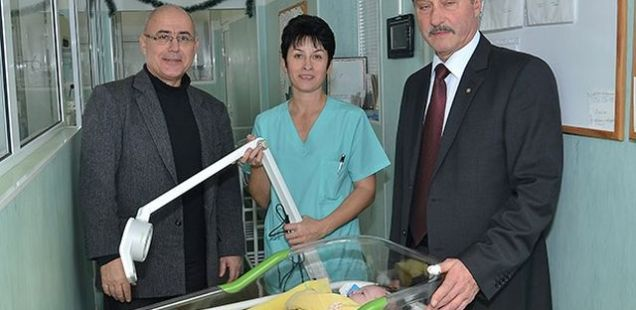 National Archaeology Institute Makes Annual Christmas Donation to Neonatology Ward in Bulgaria's Montana