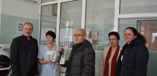Bulgaria's Archaeology Institute Makes 10th Annual Christmas Donation to Neonatology Ward in Montana's Hospital