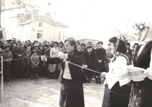 The official opening of the Burgas Museum of Ethnography back in 1981. Photo: Burgas Regional Museum of History