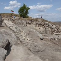 Medieval Castle's 'Monumental' Staircase, More Byzantine Gold Found in Bulgaria's Rusocastro Fortress