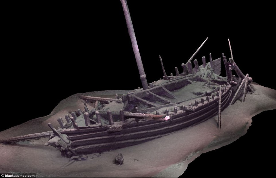 Archaeologists Discover Perfectly Preserved 2000-Year-Old Roman Ship, 20 Other Shipwrecks in Black Sea Off Bulgaria's Coast