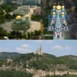 20 kg Gold Donated for Gilding Domes of Bulgaria's Medieval Patriarchate Church in Tsarevets Fortress in Veliko Tarnovo