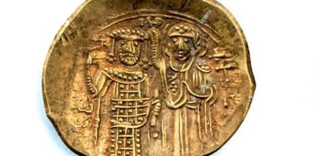 First Ever Gold Coin Found in Bulgaria's Lyutitsa Fortress, of Byzantine (Nicaean) Emperor John III Ducas Vatatzes