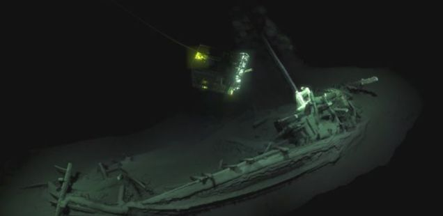 2,400-Year-Old Ancient Greek Ship from Bulgaria's Black Sea Zone Declared 'World's Oldest Intact' Shipwreck