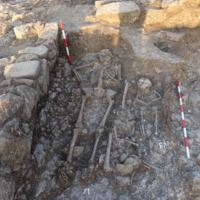 Baby Burial in Clay Pot Found in 1330s Church in Trapesitsa Fortress in Bulgaria's Veliko Tarnovo