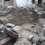 Wooden Buildings from Ancient Thrace, Colorful Roman Building Discovered at Nebet Tepe Fortress in Bulgaria's Plovdiv