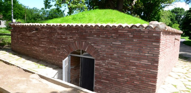 Ottoman Gunpowder Magazine Restored near Baba Vida Fortress in Bulgaria's Danube City Vidin