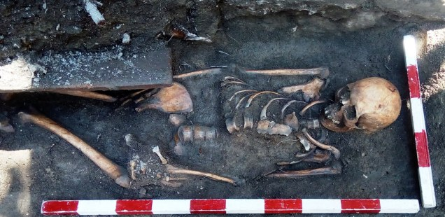 30-Year-Old Roman Woman's Grave Found in Bulgaria's Plovdiv near Discovery Site of Tomb with Jesus Christ Murals