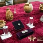 Ostrich Egg Vessel, Silver Thracian Horseman Found in Roman Era Burial Mound near Bulgaria's Lyaskovets