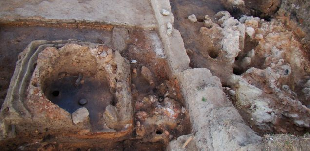 7,000-Year-Old Kilns from Prehistoric Ceramics Workshop Dug Up at Bazovets Settlement Mound in Northeast Bulgaria