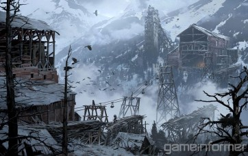Concept art from Rise of the Tomb Raider (Image credit: Game Informer)