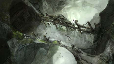 Concept art from Tomb Raider 2013