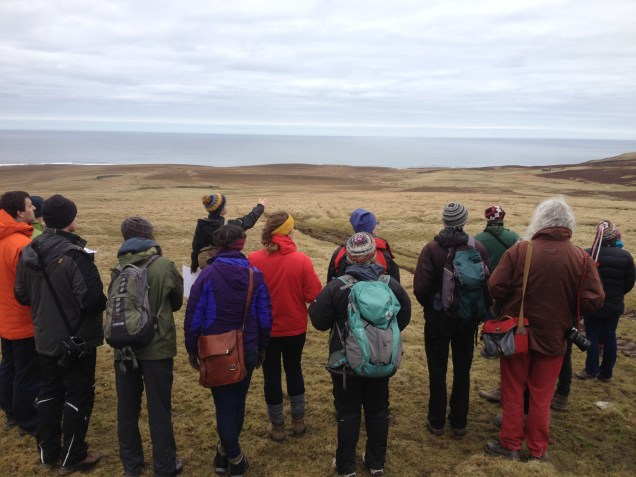 Landmark conference field visit Rousay