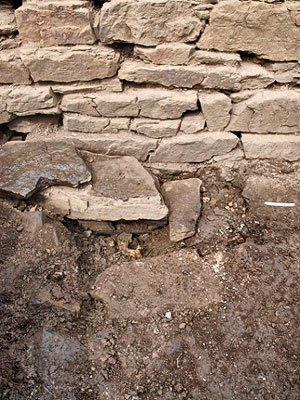 The-outer-wall-face-of-the-broch-against-which-the-human-jawbone-was-discovered
