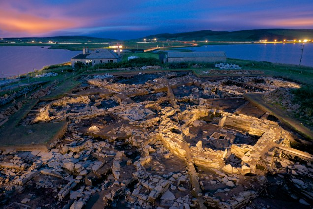 Ness of Brodgar, Orkney, Scotland