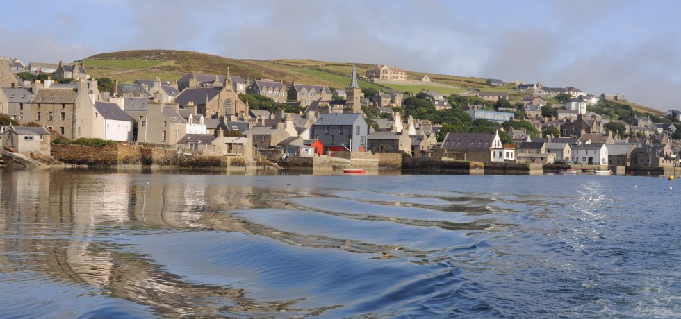 Stromness from the Sea