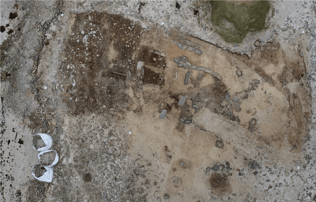 Aerial Photograph of Cata Sand Excavation 2017
