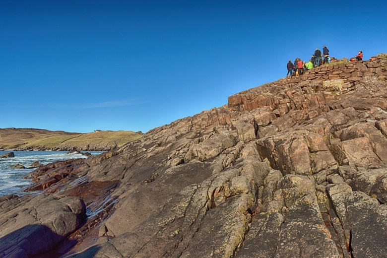 distant crowd at broch march 18