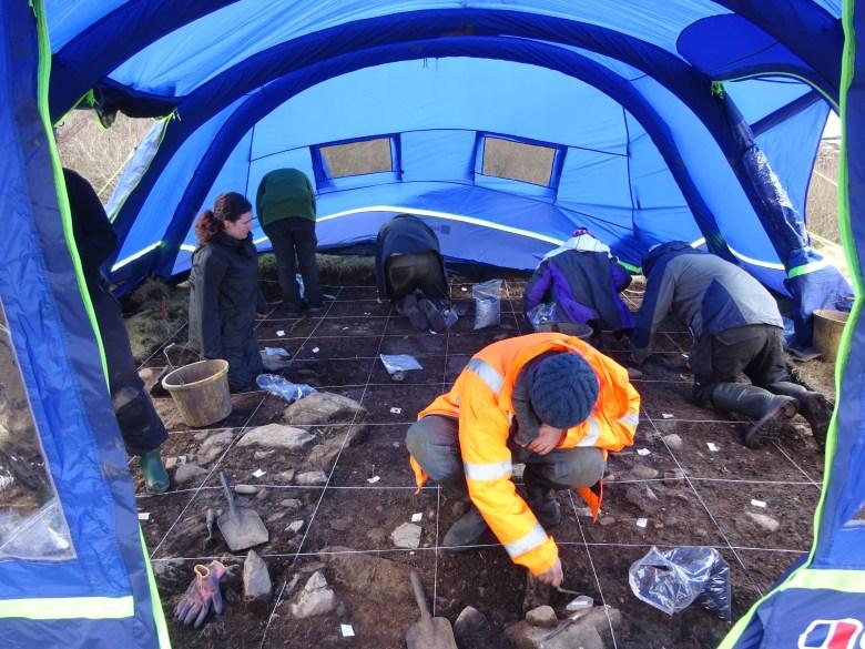 Excavating at RPAS 2018