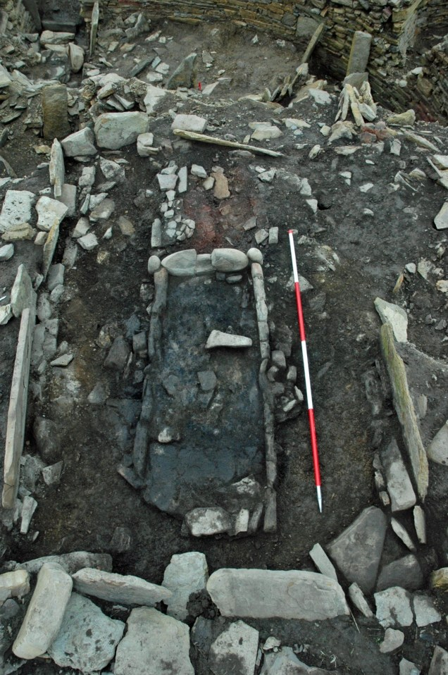 Long hearth in Structure B emerges. Constrcuted between AD 250-300