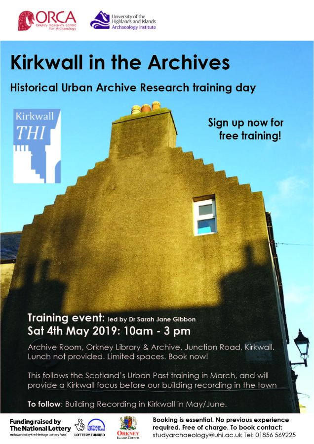 Community Archaeology in Orkney : Kirkwall in the Archives