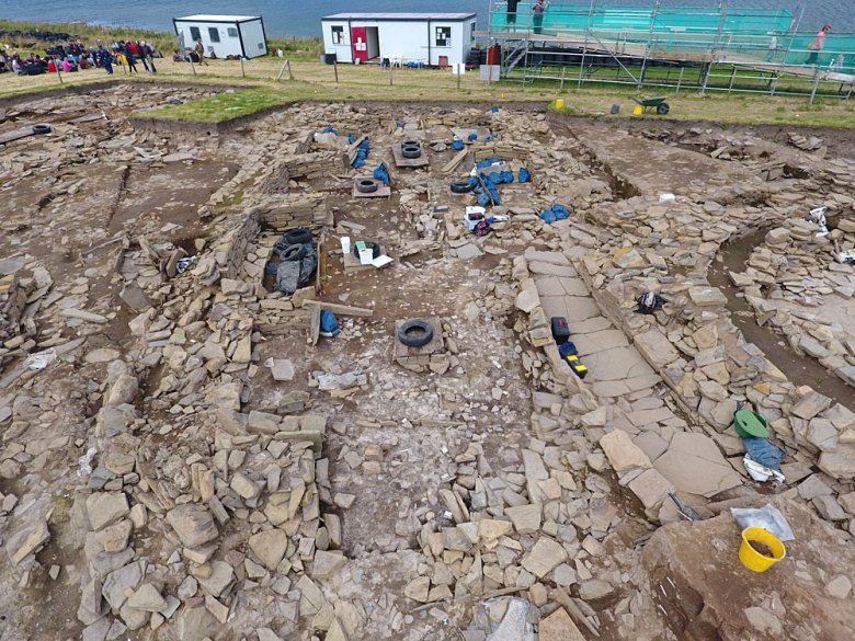 Structure Eight. Ness of Brodgar. (Scott Pike)