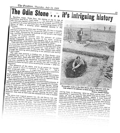 The late 1980s was a thrilling time for archaeology in Orkney. The late Adrian Challands played a key role in this archaeological revolution and continued to do so in Orkney for many years.