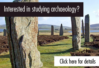 Interested in studying archaeology?