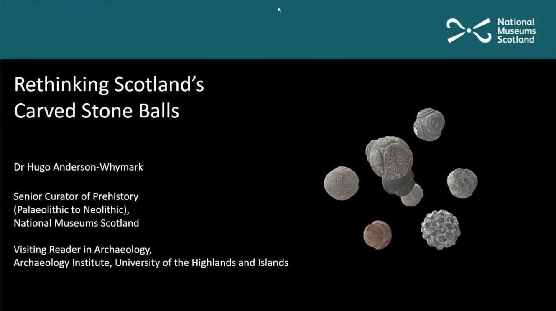 Rethinking Scotland's Neolithic Carved Stone Balls.