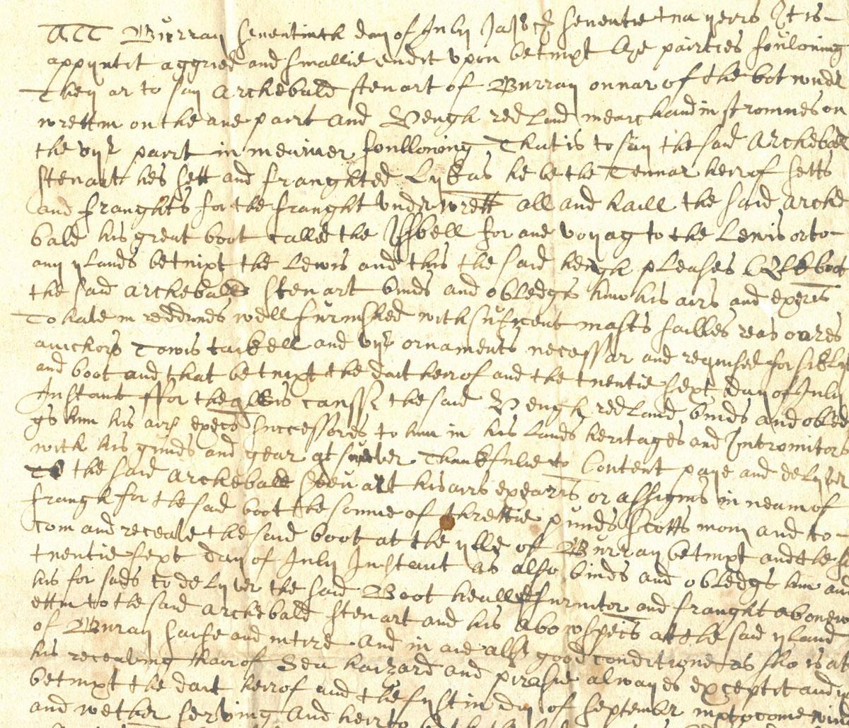 1679 letter