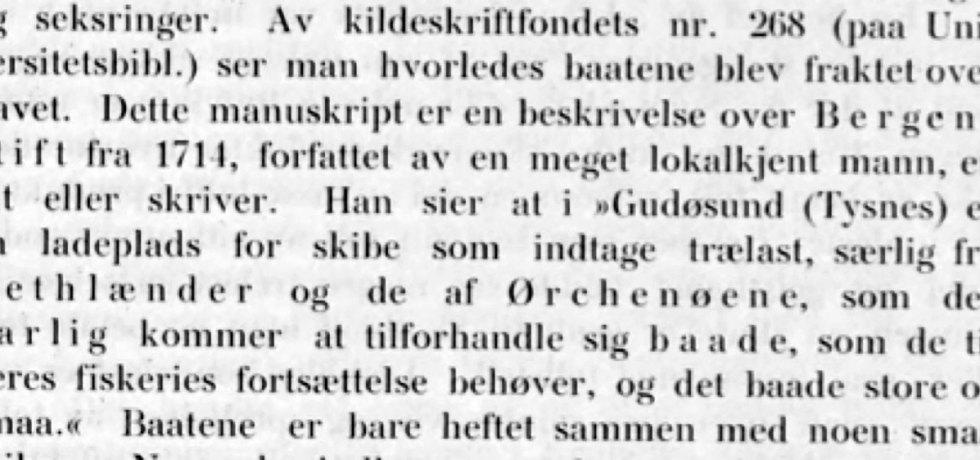 Norwegian text