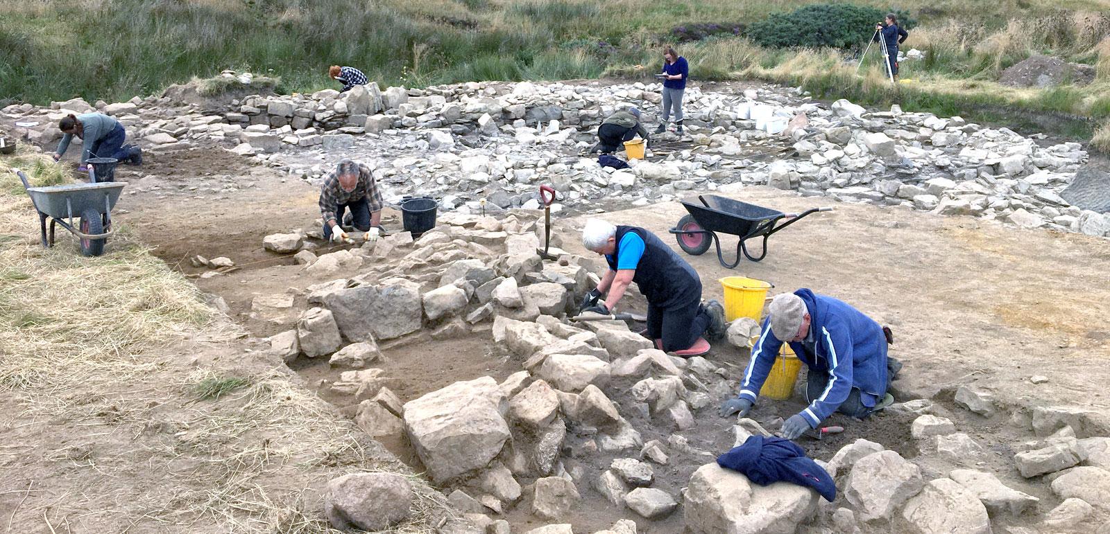 Swartigill excavation, Caithness