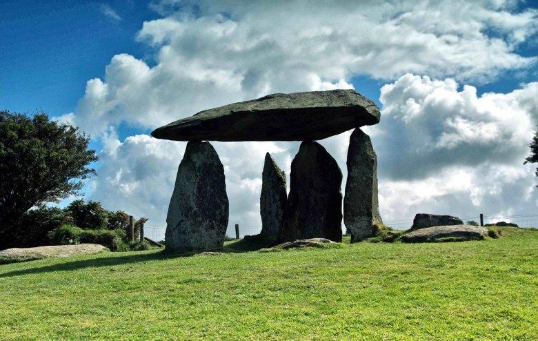 Pentre Ifan, South Wales. (Professor Colin Richards)